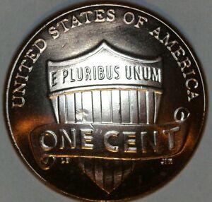 2018 LINCOLN SHIELD CENT. ERROR STRIKE THROUGH DEBRIS. UNCIRCULATED