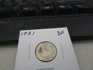1931   CANADA   SILVER 10 CENT COIN   CANADIAN DIME
