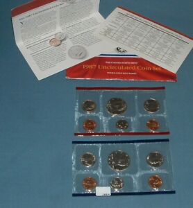 1987 U.S. MINT SET   10 COINS