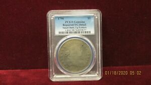1796 DOLLAR PCGS VG DETAIL SMALL EAGLE LARGE LETTERS BB 61 VARIETY