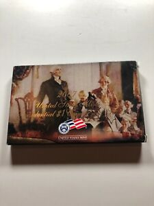 2007 UNITED STATES MINT PRESIDENTIAL ONE DOLLAR COIN PROOF SET