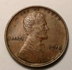 1910 LINCOLN CENT 5974