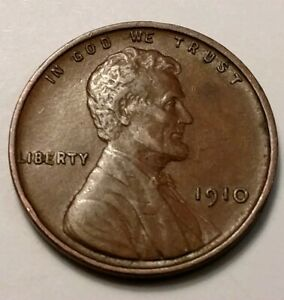 1910 LINCOLN CENT 5980