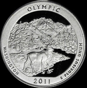2011 S 25C ATB QUARTER OLYMPIC GDC PROOF CN CLAD 50 CENTS SHIPPING