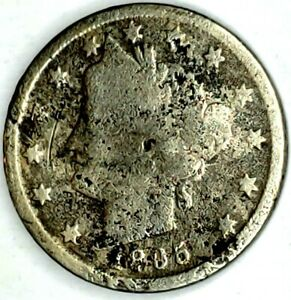 1895 P 5C LIBERTY HEAD NICKEL 19HS0825 50 CENTS SHIPPING