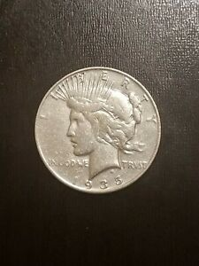 1935 S PEACE DOLLAR   BETTER DATE   NICE ORIGINAL EXTRA FINE WITH LUSTER