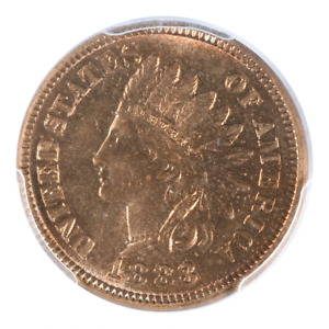 Click now to see the BUY IT NOW Price! 1883 INDIAN HEAD CENT PCGS MS66RD