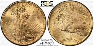 Click now to see the BUY IT NOW Price! 1923 D $20 PCGS MS66   CAC 34180976