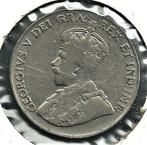 1924 5 CENTS COIN. COIN SEEN IS THE COIN BUYER GETS.