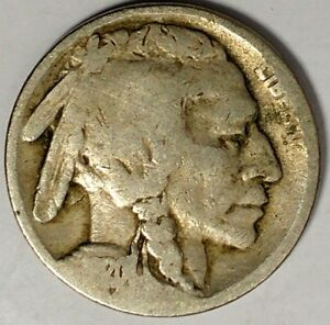 1920 P 5C BUFFALO NICKEL 18LOR0802 2 50 CENTS SHIPPING