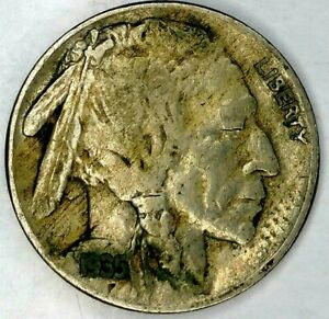 1935 P 5C BUFFALO NICKEL 19SH0713 50 CENTS SHIPPING