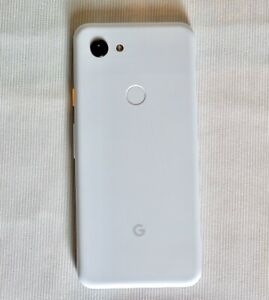 GOOGLE PIXEL 3A   64GB   CLEARLY WHITE  UNLOCKED   SINGLE SIM   CA