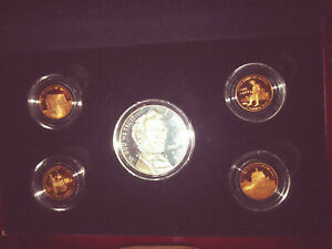 2009 PRESIDENT ABRAHAM LINCOLN 5 PIECE CHRONICLE SET CENTS DOLLAR  US 108