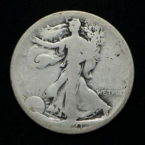 1921 D WALKING LIBERTY HALF DOLLAR  CN6933