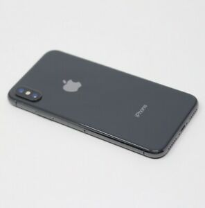 APPLE IPHONE X 256GB UNLOCKED AT&T SPACE GRAY BLACK A1901 GSM