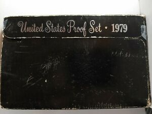 1979 S US PROOF MINT SET 6 COINS CLAD 19HTT1025 $2 SHIPPING