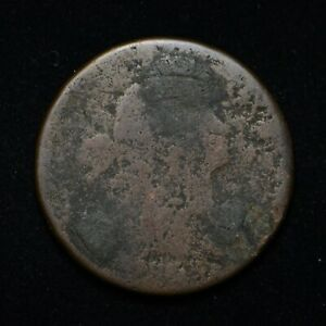 DRAPED BUST LARGE CENT UNREADABLE DATE  BB3983