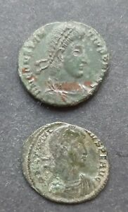 ROMAN BRONZE COINS. LOT TO 2 COINS