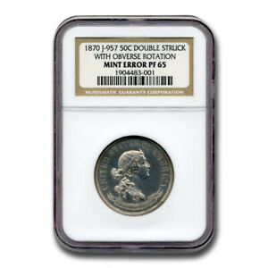 Click now to see the BUY IT NOW Price! 1870 HALF DOLLAR PATTERN PF 65 NGC  J 957 DOUBLE STRUCK W/RTN    SKU200279