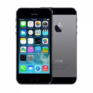 NEW FACTORY UNLOCKED SPACE GRAY 16GB APPLE IPHONE 5S 5 S PHONE GZ24