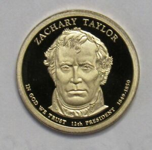 2009 S PROOF ZACKARY TAYLOR PRESIDENTIAL DOLLAR