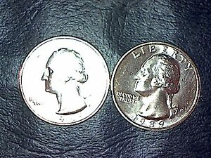 1989 P & D WASHINGTON QUARTER