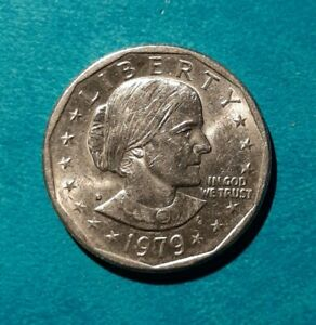 1979 D SUSAN B ANTHONY DOLLAR DENVER AMERICA USA