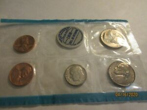 1968 UNC. MINT SET [ 5 ] COIN SET. 1 PENNY HAS [ S ]  MINT .