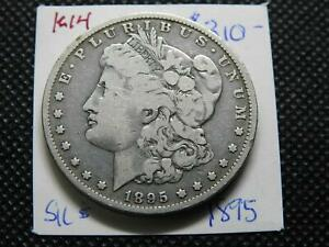 1895 O $1 MORGAN SILVER DOLLAR   FINE ORIGINAL