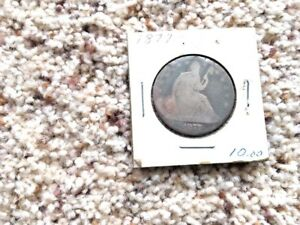 1877 SEATED LIBERTY SILVER HALF DOLLAR G CONDITION