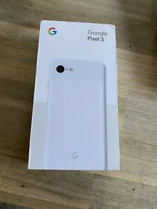GOOGLE PIXEL 3   64GB  CLEARLY WHITE  EE  MANUFACTURER WARRANTY TILL DEC 2020