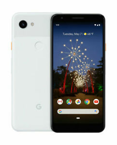 GOOGLE PIXEL 3A XL 64GB CELL PHONE  FACTORY UNLOCKED    CLEARLY WHITE   SEALED