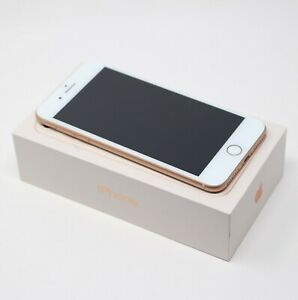 APPLE IPHONE 8 PLUS 256GB SPRINT ONLY  ROSE  GOLD WHITE A1864 READ