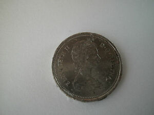 CANADA 25 CENTS 1986 COIN