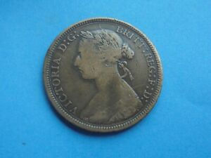 1891 HALFPENNY VICTORIA AS SHOWN.