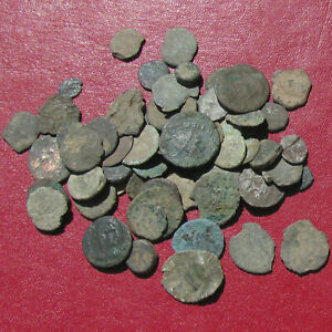 Click now to see the BUY IT NOW Price! DECENT CLAUDIUS II AND FIFTY SMALL CULL AND CHIPPED ROMAN BRONZE COINS   CHEAP