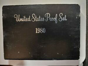 1980 S US PROOF MINT SET 6 COINS CLAD 18HOC2101 $2 SHIPPING