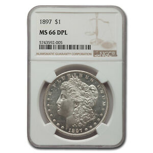 Click now to see the BUY IT NOW Price! 1897 MORGAN DOLLAR DPL MS 66 NGC   SKU214249