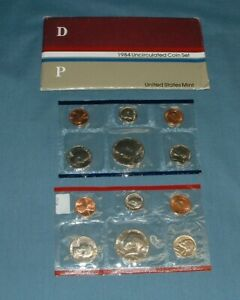 1984 U.S. MINT SET   10 COINS