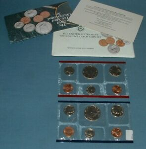 1989 U.S. MINT SET   10 COINS