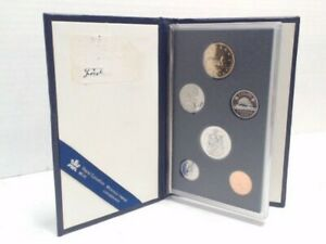 1990 ROYAL CANADIAN MINT 6 COIN PROOF SET