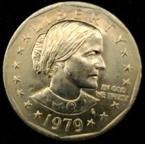 1979 D $1 SUSAN B ANTHONY DOLLAR  BU 20 50 CENTS SHIPPING