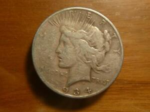 1934 S PEACE DOLLAR CIRCULATED R DATE SKU 19286