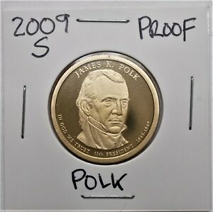 2009 S PROOF PRESIDENTIAL DOLLAR COIN J. POLK