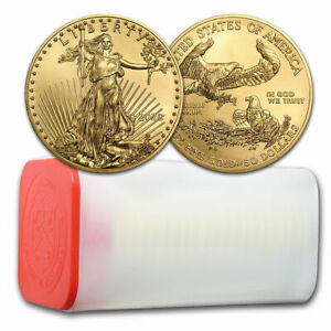 Click now to see the BUY IT NOW Price! 2020 1 OZ GOLD AMERICAN EAGLE BU   TUBE OF 20