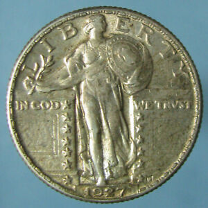 Click now to see the BUY IT NOW Price! TONED CHOICE AU 1927 STANDING LIBERTY QUARTER
