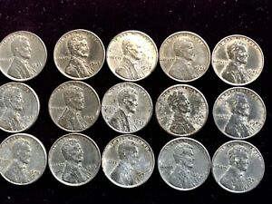 LOT OF 1943 STEEL CENTS ERROR LINCOLN PENNIES