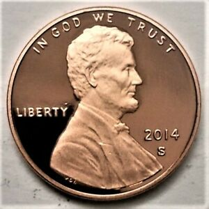 2014 S GEM PROOF LINCOLN SHIELD CENT