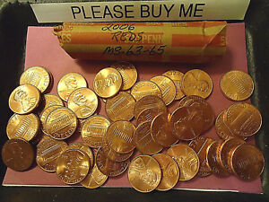 2006 REDS PENNY ROLL