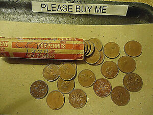 1978 CANADA CENT ROLL    50 COINS      >>C/S & H AVAILABLE<<
